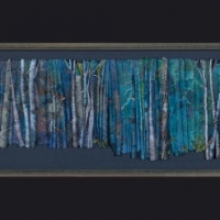Ghost Trees #1, 18 x 76